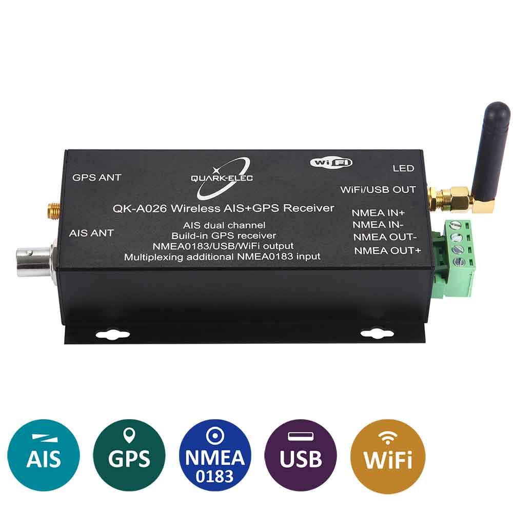 0183 Bi-directional Converter WiFi and USB output Quark QK-A032-S NMEA 2000