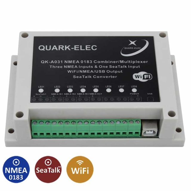 QK-A027 Wireless AIS Receiver with GPS + SeaTalk Converter -
