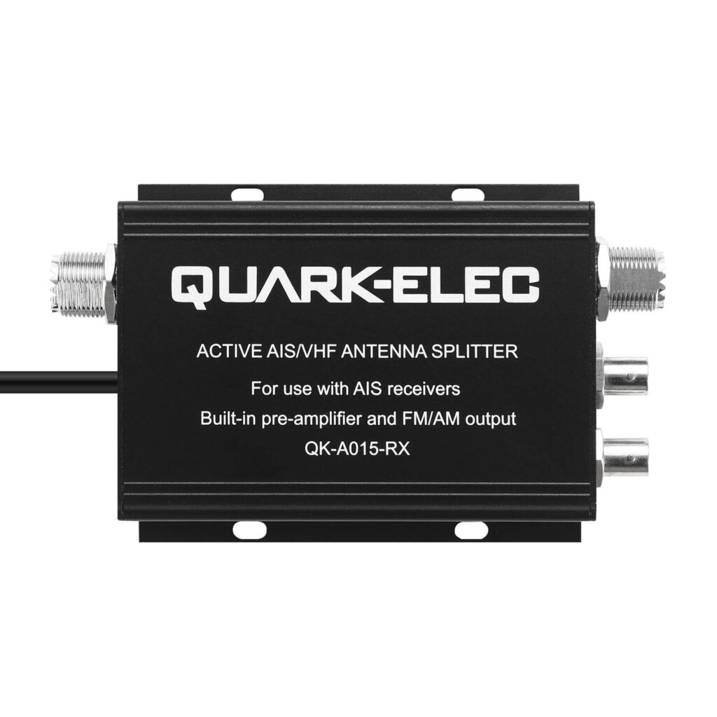 AIS-VHF Active VHF/AIS Antenna Splitter